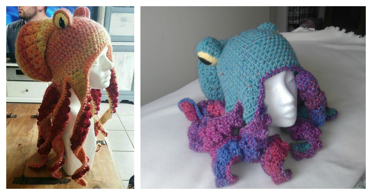 Octopus Hat Free Crochet Pattern Amazing Crochet Octopus Hat Pattern