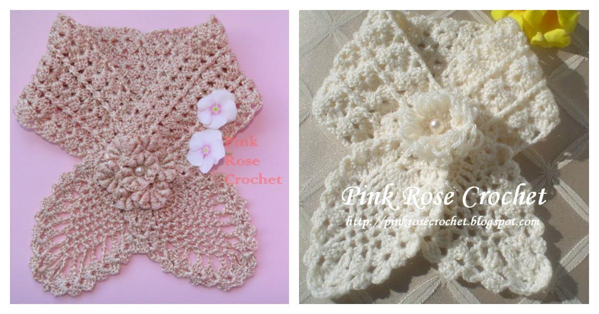 Pineapple Neck Warmer Free Crochet Pattern