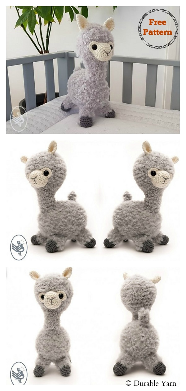 Adorable Crochet Llamas | 1260x600