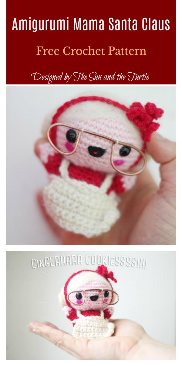 Amigurumi Mama Santa Claus Free Crochet Pattern