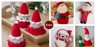 Amigurumi Santa Free Crochet Pattern