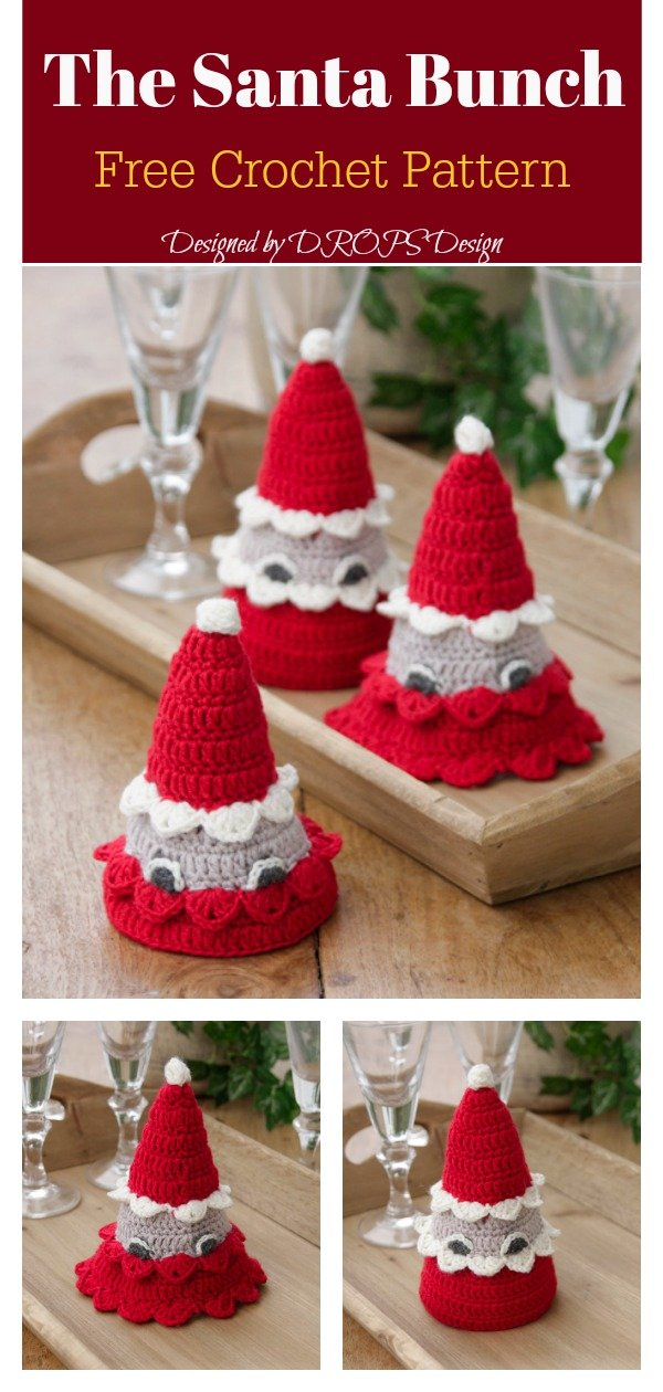 Amigurumi The Santa Bunch Free Crochet Pattern