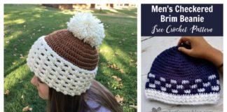 Brim Beanie Free Crochet Pattern