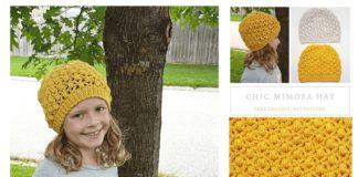 Chic Mimosa Hat Free Crochet Pattern