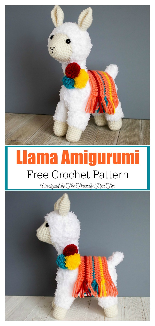 Amigurumi Cute Alpaca Free Pattern (With images) | Crochet ... | 1260x600