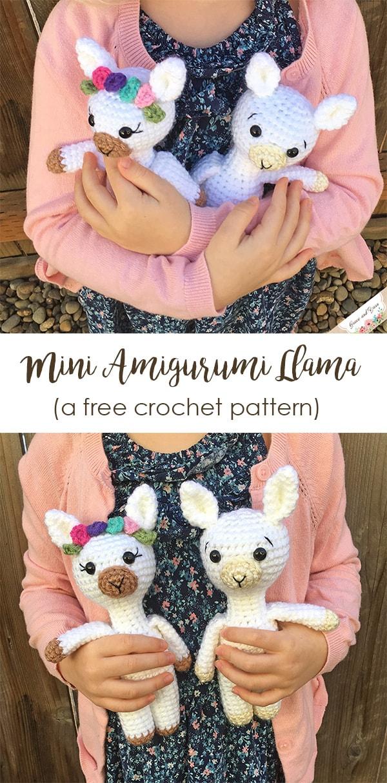 Mini Amigurumi Llama Free Crochet Pattern