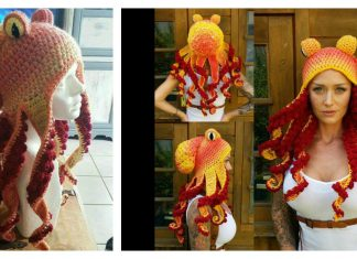 Octopus Hat Free Crochet Pattern