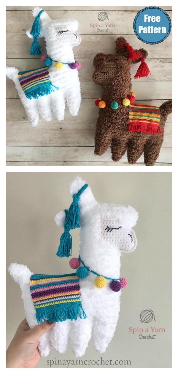 Ragdoll Llama Soft Toy Free Crochet Pattern