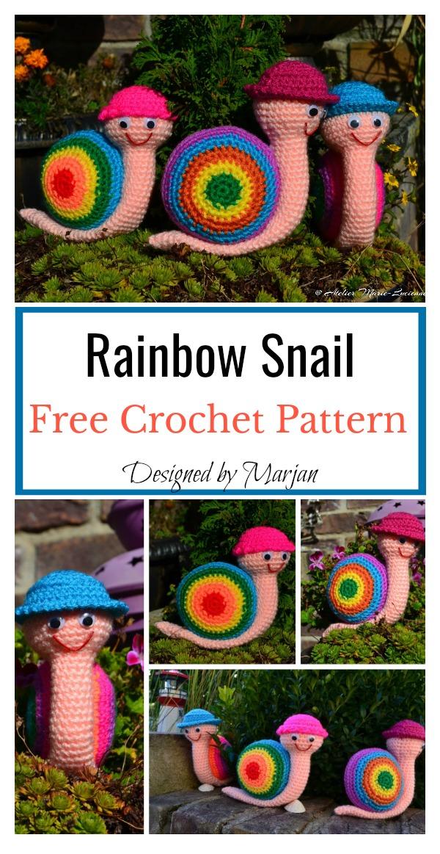 Amigurumi Snail Free Crochet Pattern