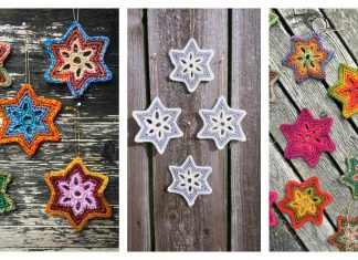 Bethlehem Star Ornament Free Crochet Pattern
