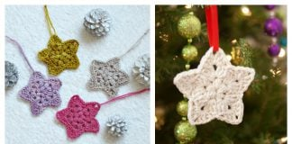 Bethlehem Star Ornament Free Crochet Pattern