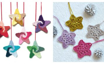 Star Ornament Free Crochet Pattern