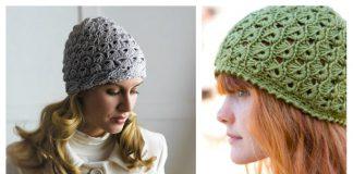 Broomstick Lace Hat Free Crochet Pattern