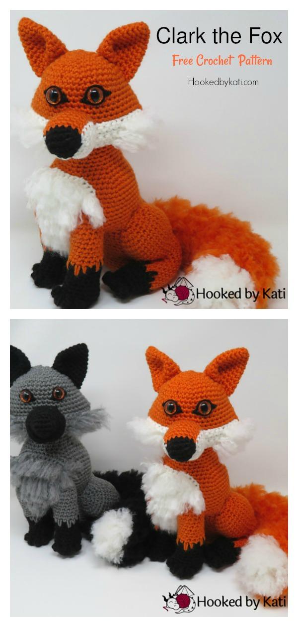 The Sleepy Fox Free Crochet Pattern – Knitting Projects | 1260x600