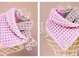 How to Crochet Waffle Stitch Cowl