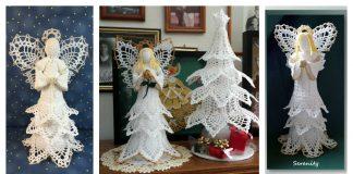 Lacy Pineapple Angel Free Crochet Pattern