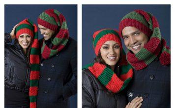 Scarf Hat Duo Free Crochet Pattern