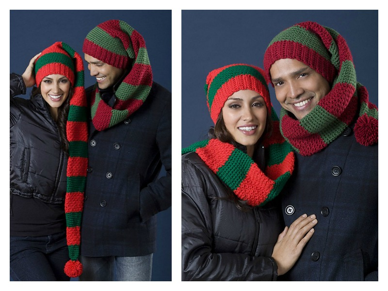 Scarf Hat Duo Free Crochet Pattern Cool Creativities