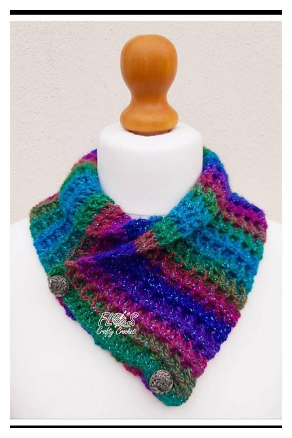 Waffle Stitch Cowl Free Crochet Pattern