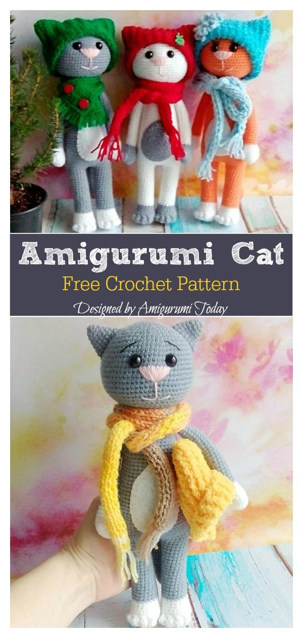 Crochet a Cat - Free Crochet Pattern - Yarnplaza.com | For ... | 1260x600