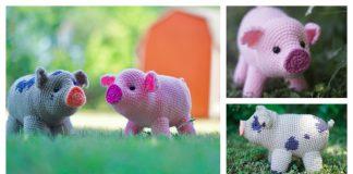 Amigurumi Mini Pig Free Crochet Pattern