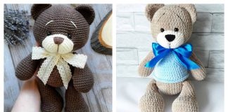 Amigurumi Plush Bear Free Crochet Pattern