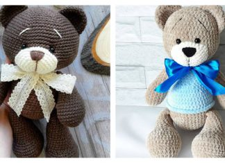 Amigurumi Plush Bear Free Crochet Pattern