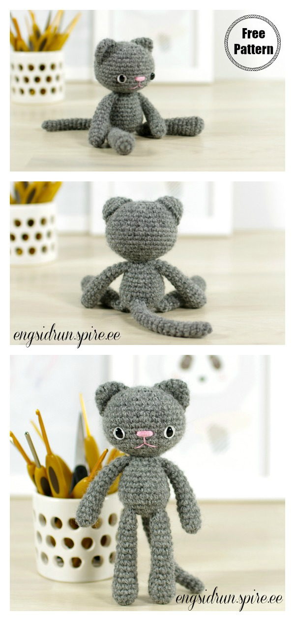 Cat Crochet Patterns You'll Love To Try | The WHOot | 1260x600