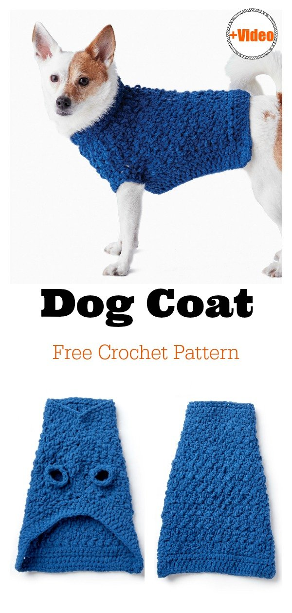 Dog Coat Free Crochet Pattern