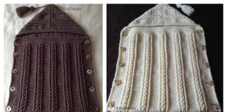 Hooded Sleep Sack Free Crochet Pattern