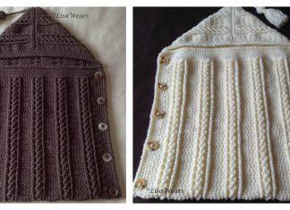 Hooded Sleep Sack Free Crochet Pattern