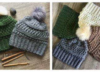Southern Pines Beanie Free Crochet Pattern