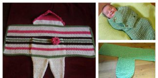Swaddle Me Baby Cocoon Free Crochet Pattern