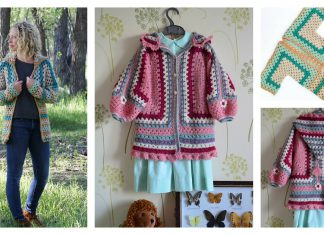 The Campfire Cardigan Free Crochet Pattern