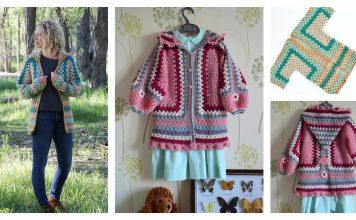 The Campfire Cardigan Free Crochet Pattern