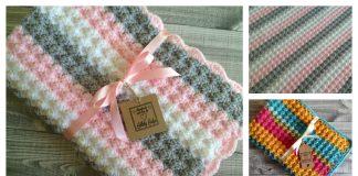 Bubbles Baby Blanket Free Crochet Pattern