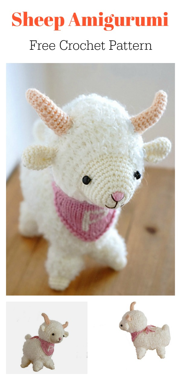 Free Crochet Patterns | Free Crochet Pattern Amigurumi Sheep ... | 1260x600