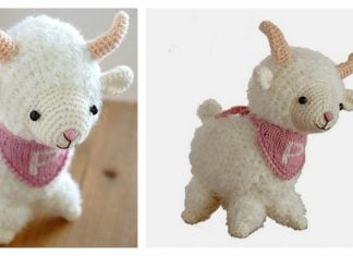 Cute Sheep Amigurumi Free Crochet Pattern
