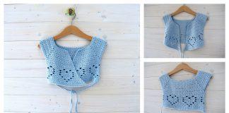 How To Crochet Little Girl's Ballet Cardigan