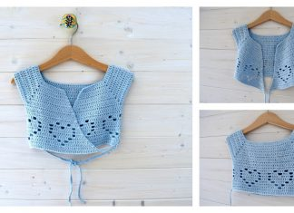 How To Crochet Little Girl's Ballet Cardigan