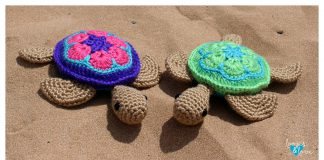 Sea Turtle Amigurumi Free Crochet Pattern