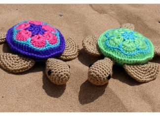 Sea Turtle Amigurumi Free Crochet Pattern