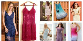 Amazing Woman Dress Free Crochet Pattern