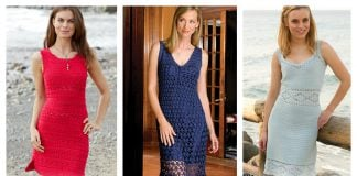 Amazing Woman Dress Free Crochet Pattern