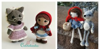 Amigurumi Bad Wolf Free Crochet Pattern