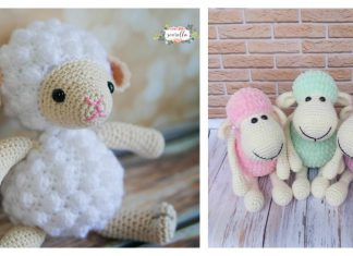 Amigurumi Toy Sheep Free Crochet Pattern