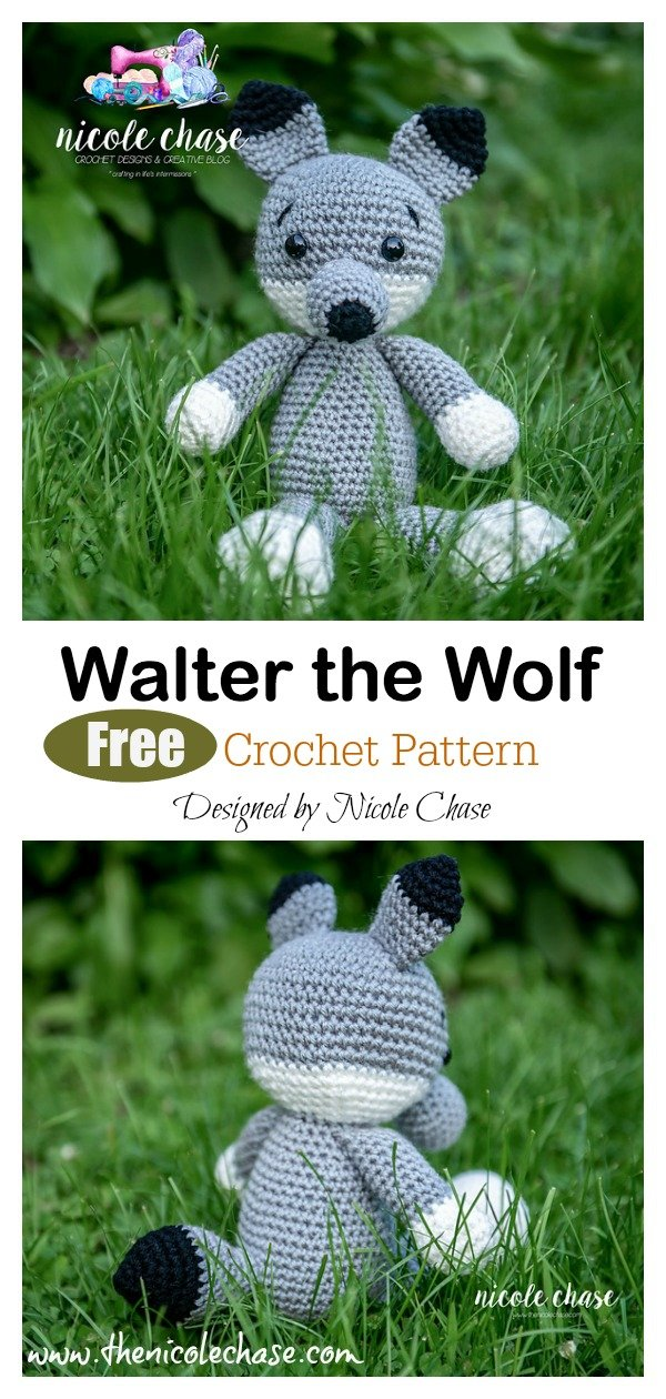 Lluna Pellise's photos on | Crochet wolf, Amigurumi pattern ... | 1260x600