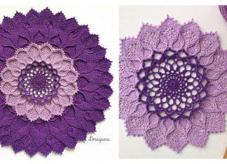 Arcanoweave Doily Free Crochet Pattern