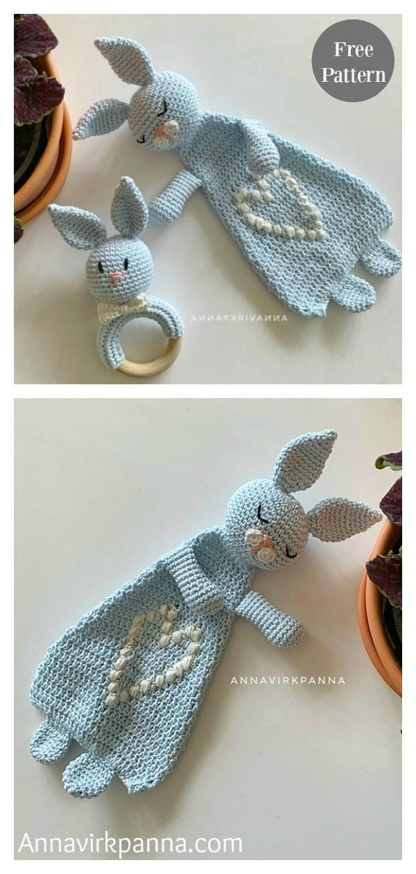 Bunny Ragdoll Toy Free Crochet Pattern
