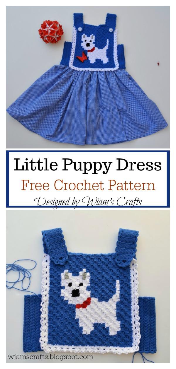 Puppy Dress Free Crochet Pattern